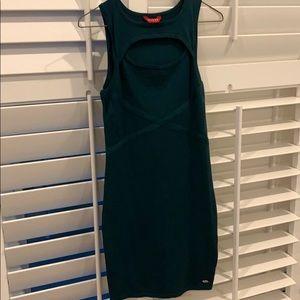 Deep green Guess XS dress